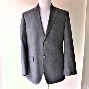 Robert Graham Sport Coat 2 button Gray 34R NEW